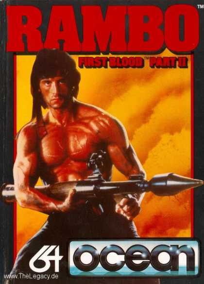 Misc. Games - Rambo: First Blood Part 2
