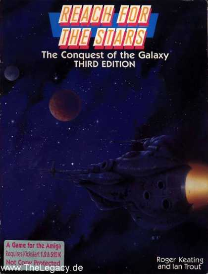 Misc. Games - Reach for the Stars: The Conquest of the Galaxy - Third Edition