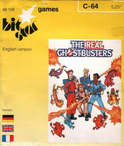 Misc. Games - Real Ghostbusters, The