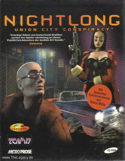 Misc. Games - Nightlong: Union City Conspiracy