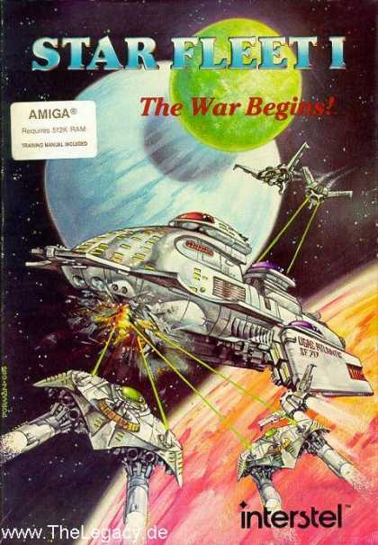 Misc. Games - Star Fleet I: The War Begins!