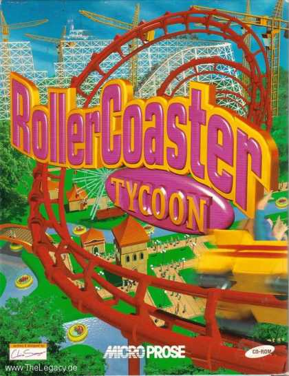 Misc. Games - RollerCoaster Tycoon