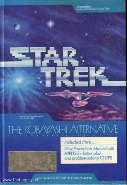 Misc. Games - Star Trek: The Kobayashi Alternative