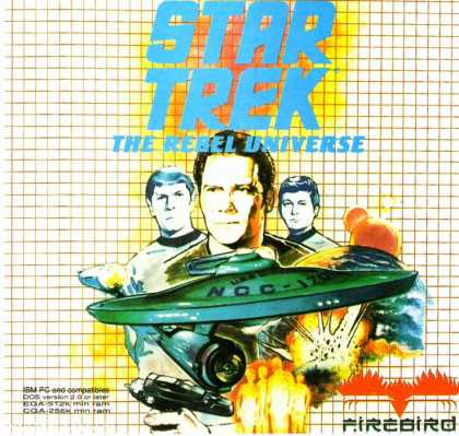 Misc. Games - Star Trek: The Rebel Universe