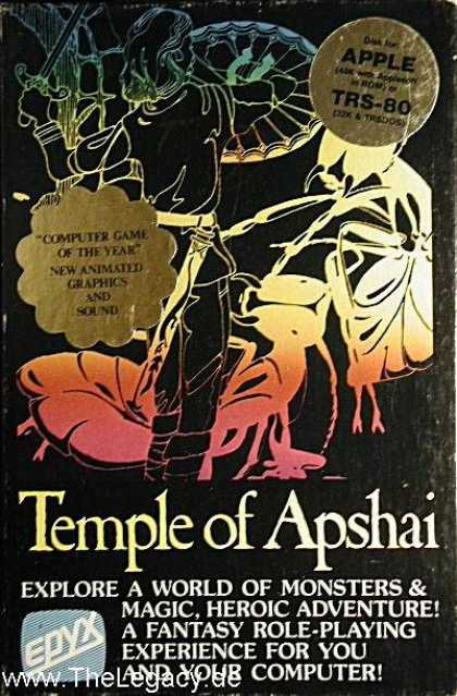 Misc. Games - Temple of Apshai, The