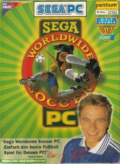 Misc. Games - SEGA Worldwide Soccer PC