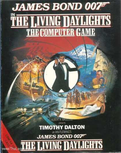 Misc. Games - James Bond 007 - The Living Daylights