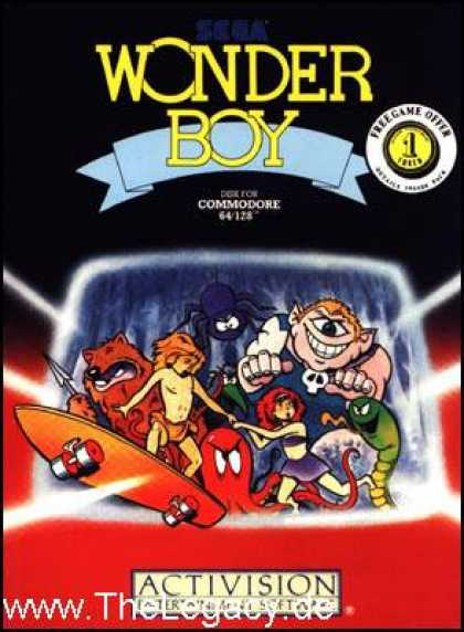 Misc. Games - Wonder Boy
