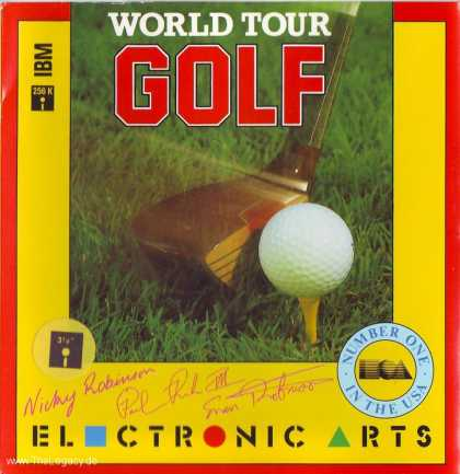 Misc. Games - World Tour Golf