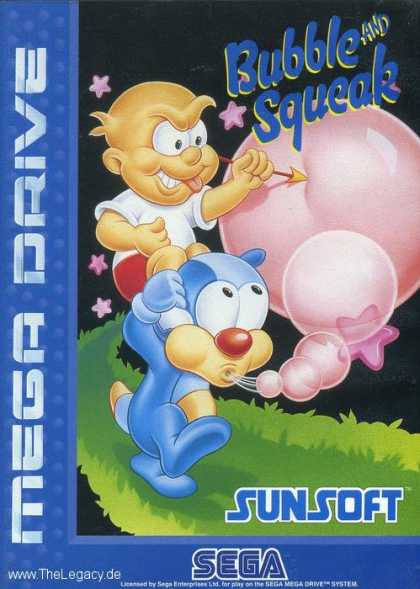 Misc. Games - Bubble and Squeak