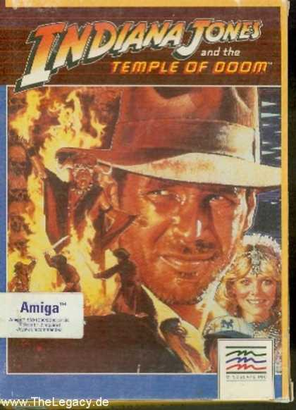Misc. Games - Indiana Jones and the Temple of Doom