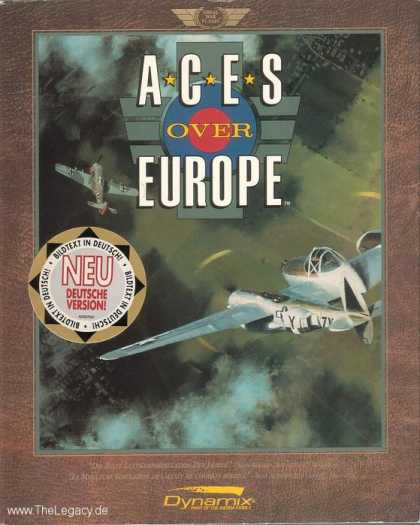 Misc. Games - Aces over Europe