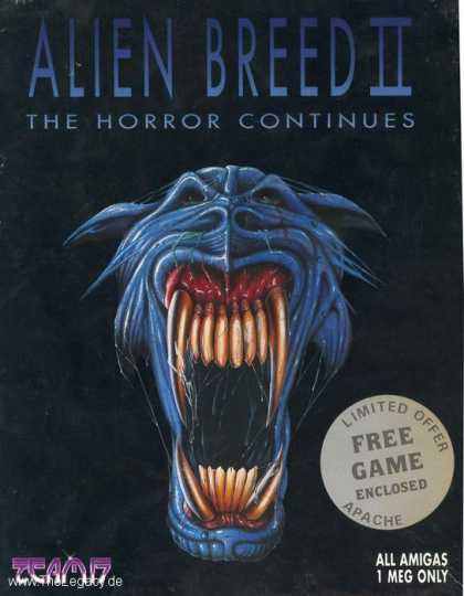 Misc. Games - Alien Breed II: The Horror Continues