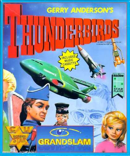 Misc. Games - Thunderbirds, Gerry Andersons's