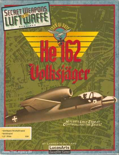 Misc. Games - Secret Weapons of the Luftwaffe: He 162 Volksjäger