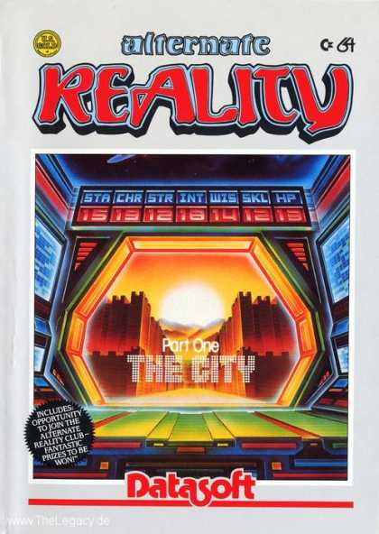 Misc. Games - Alternate Reality: The City