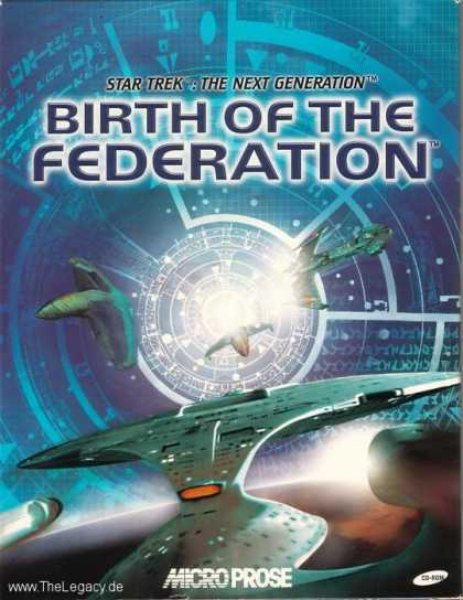 Misc. Games - Star Trek - The Next Generation: Birth of the Federation