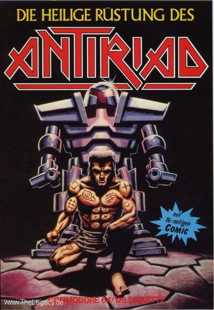 Misc. Games - Antiriad, Sacred Armour of...