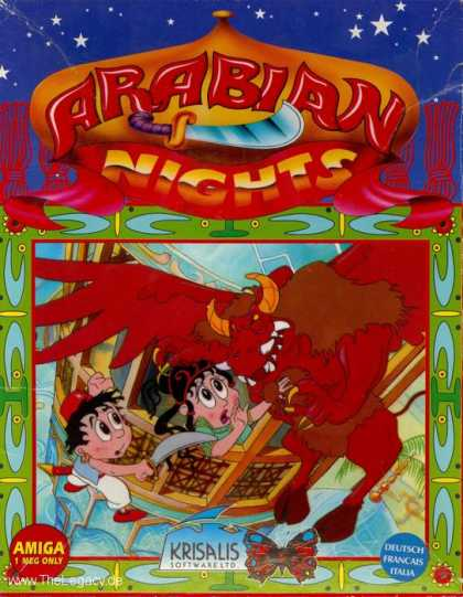 Misc. Games - Arabian Nights