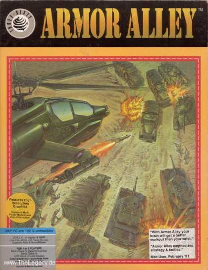 Misc. Games - Armor Alley