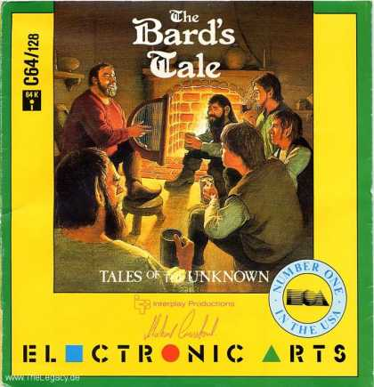 Misc. Games - Bard's Tale, The: Tales of the Unknown