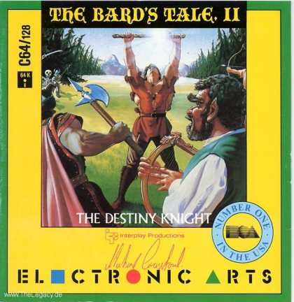 Misc. Games - Bard's Tale II, The: The Destiny Knight