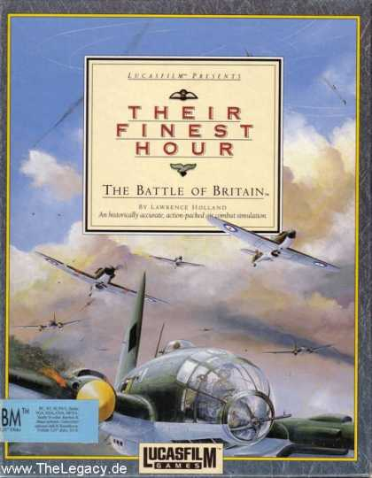 Misc. Games - Their Finest Hour: The Battle of Britain