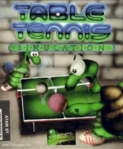 Misc. Games - Table Tennis Simulation