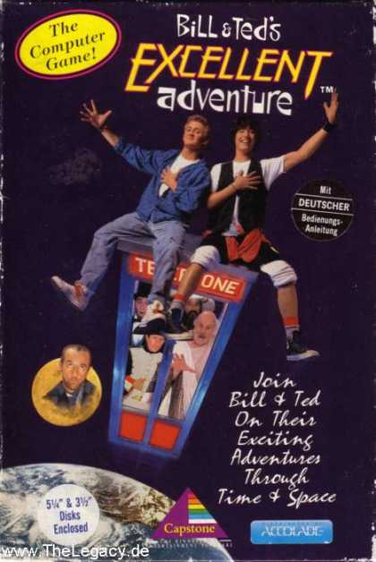 Misc. Games - Bill & Ted's: Excellent Adventure