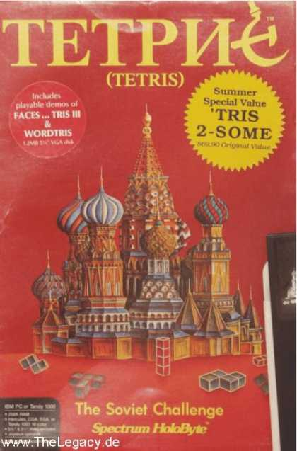 Misc. Games - Tetris: The Soviet Challenge