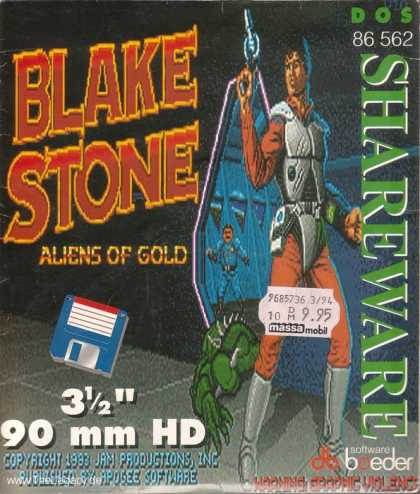 Misc. Games - Blake Stone: Aliens of Gold