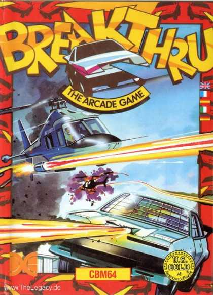 Misc. Games - Breakthru: The Arcade Game