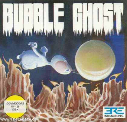 Misc. Games - Bubble Ghost