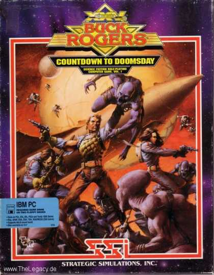 Misc. Games - Buck Rogers: Countdown to Doomsday