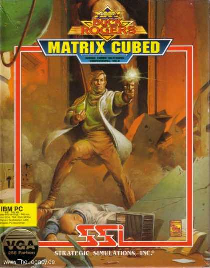 Misc. Games - Buck Rogers 2: The Matrix Cubed