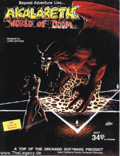 Misc. Games - Akalabeth: World of Doom