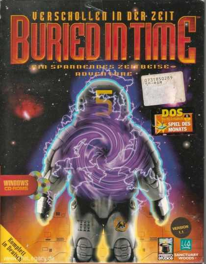 Misc. Games - Journeyman Project 2, The: Buried in Time
