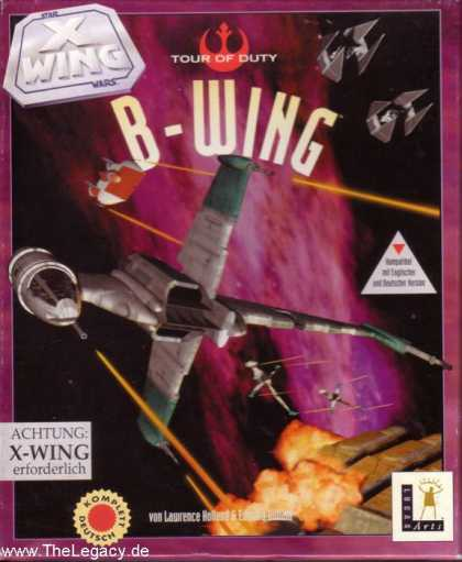 Misc. Games - Star Wars - X-Wing: B-Wing