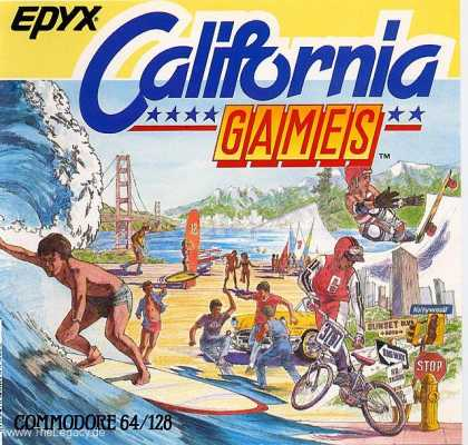 Misc. Games - California Games