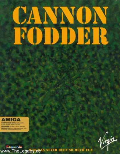Misc. Games - Cannon Fodder