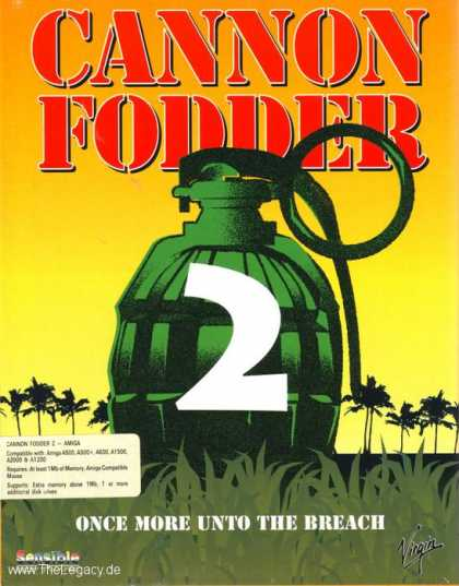 Misc. Games - Cannon Fodder 2