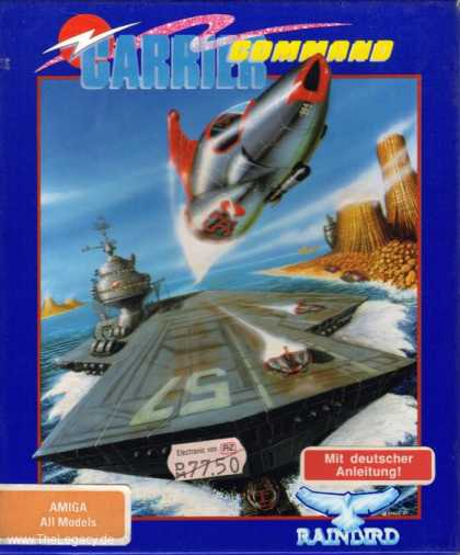 Misc. Games - Carrier Command