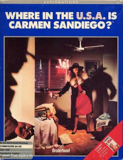 Misc. Games - Where in the U.S.A. is Carmen Sandiego?
