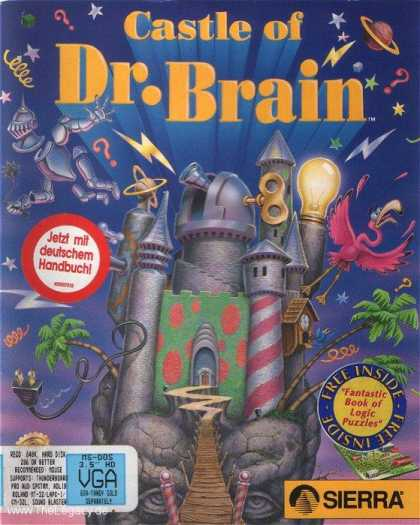 Misc. Games - Castle of Dr. Brain