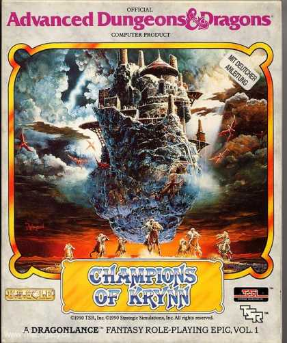Misc. Games - Champions of Krynn