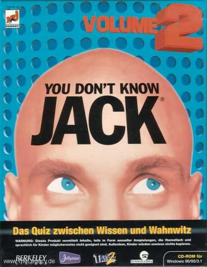 Misc. Games - You don't know Jack 2