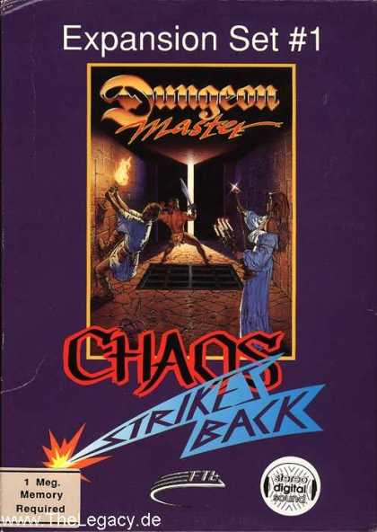 Misc. Games - Dungeon Master: Chaos strikes Back