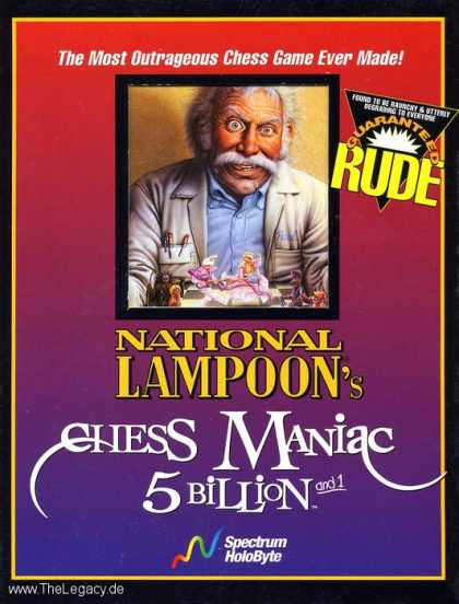 Misc. Games - National Lampoon's Chess Maniac 5 Billion and 1