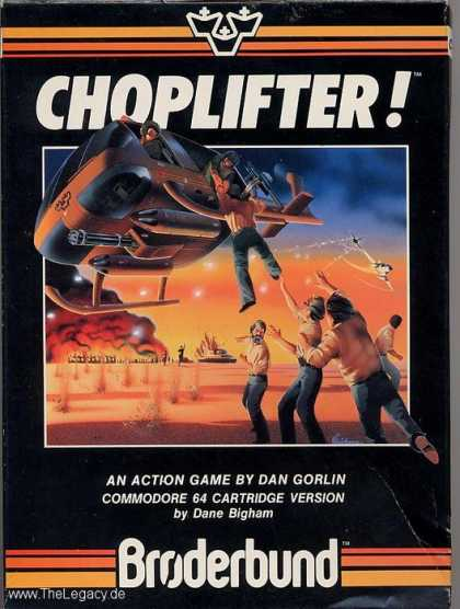 Misc. Games - Choplifter