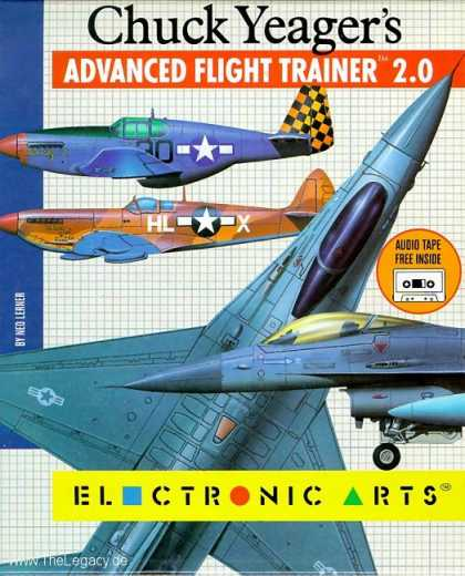 Misc. Games - Chuck Yeager's Advanced Flight Trainer 2.0